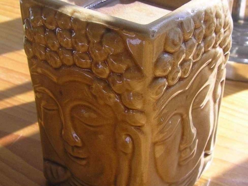 Buddha Ceramic Oil Burner