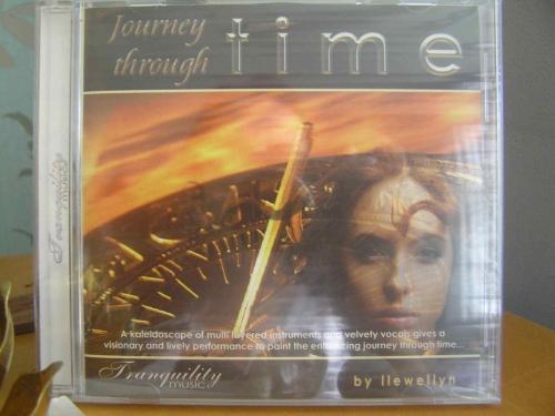 Journey Through Time CD - meditation reiki healing - Llewellyn - NEW