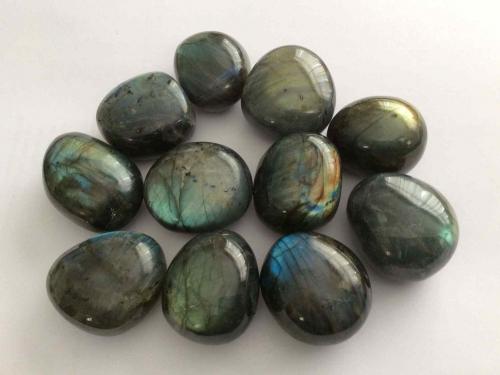 Labradorite pebbles