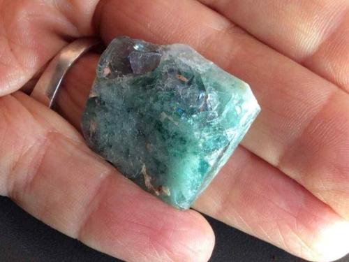 Rogerly Mine Fluorite Specimen  Blue Green Crystals