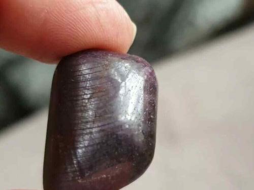 Ruby Polished Tumblestone - Deep Red Precious Stone Crystal 14g (e)